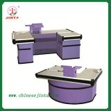 Kassierer Desk, Luxury Checkout Counter mit Conveyor Belt (JT-H05)