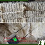 Ug da fibra branca do sisal da classe para a placa de gipsita