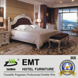Luxurious Hotel Carving Bedroom Furniture Suite Présidentielle (EMT-D1204)