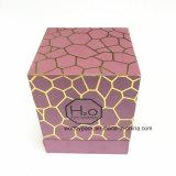 Kosmetischer verpackenpapierkasten mit vereiteltem Golddrucken