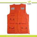 Gilet de fonctionnement de mode de coton/polyester (F190)
