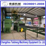 鋼板のためのローラーコンベヤーのショットブラスト機械かショットブラスト機械