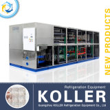 Koller The Largest 25tons Capacity Ice Cube Machine в Африке