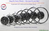 Kit mágico 1000W de la conversión de la bici de la serie E de la empanada del motor de oro