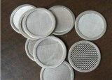 Uns/dois/três/diversos disco redondo soldado ponto do aço inoxidável da camada para o filtro