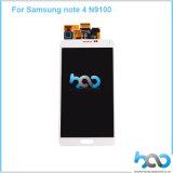 Touch Screen ruft TFT LCD für flachen Bildschirm der Samsung-Galaxie-Anmerkungs-4 an