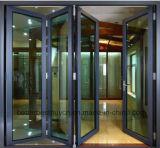 Willkommene europäische Art-Bi-Faltende Aluminiumlegierung-Tür
