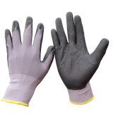 gant ultra mince en nylon de travail de nitriles de Micro-Mousse de gants du Spandex 15g