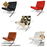Meubles noirs de conception de chaise de Leather/PU Barcelone (GV-BC01)