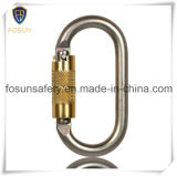 Torsion Carabiner de serrure automatique en or de haute résistance