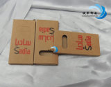 Empaquetado plegable del regalo de la caja del papel de Kraft