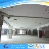 Partition de mur de pierres sèches et système suspendu au plafond
