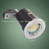 Twist Lock Anel Bezel Recessed Teto Foco Fogo Rated LED Downlight