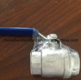 Steel inoxidable 2PC Thread Ball Valve (TP304)