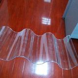 Folha ondulada do policarbonato da matéria- prima de 100%