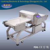 Detetor de metais do transporte da máquina de processamento dos bolinhos de massa para a indústria alimentar