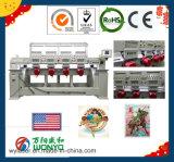 Macchina del ricamo di funzionamento automatico, macchina commerciale del ricamo delle 4 teste in macchina ad alta velocità del ricamo