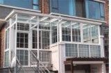 Sunroom en aluminium de bonne qualité pendant la vie de loisirs
