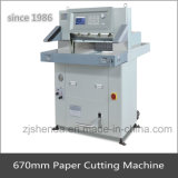 670mm Program Control Schwer-Aufgabe Manual Paper Cutting Machine