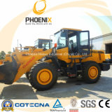 Changlin 937h 3 Tons Wheel Loader con Joystick y Big Radiator (modelo actualizado de ZL30H)