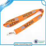 Polyester 2016 Material Printed Lanyard mit Fittings