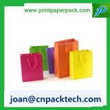Brillant tout le sac de papier d'imprimerie de couleur