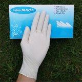 Устранимая дешевая Non-Sterile перчатка рассмотрения латекса медицинской ранга напудренная и порошок свободно