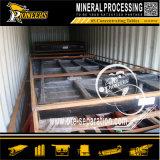 Сепаратор силы тяжести машины разъединения добычи золота влажный трястия фабрику таблицы