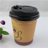Gedrucktes Logo Design Coffee Paper Cup mit Lid