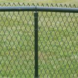 Recinzione rivestita di collegamento Chain di /Stadium del campo da giuoco della polvere d'acciaio all'ingrosso