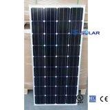 comitato solare monocristallino nero approvato di 150wp TUV/Ce/Mcs/IEC