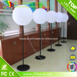 LED Standing Ball Light con Bracket