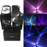 LED 8PCS Ratationのビーム移動ヘッドライト