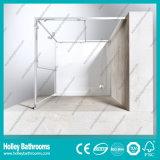 Cabine impermeável de alumínio do chuveiro da barra da ferragem do aço inoxidável de porta deslizante (SE615C)