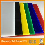 Le panneau de plastique de la couleur PMMA a moulé la feuille acrylique
