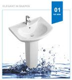 Раковина мытья тазика постамента мытья Weidansi керамическая (WDS-P7206)