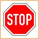 Высокий отражательный алюминиевый предупредительный знак движения восьмиугольника стопа