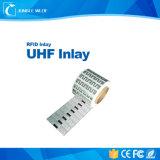 Intarsio di frequenza ultraelevata della lunga autonomia di RFID per il sistema di obbligazione & il sistema di controllo