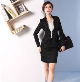 Feito a Measure Fashion Stylish Office Lady Formal Suit Fit magro Pencil Pants Pencil Skirt Suit L51611