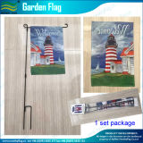 Декоративные изготовленный на заказ стальные флаги сада (M-NF06F11006)