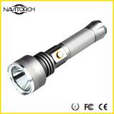 500mの広い範囲の超明るい810の内腔のアルミニウム再充電可能な懐中電燈(NK-2666)