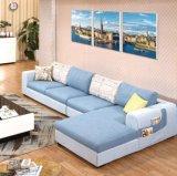 Modelo de madera barato agradable del sofá de Whosale
