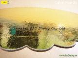 Schede grige della torta della scheda del fornitore del laminatoio con i bordi del fiore con lo SGS (B&C-K074)