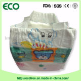 Poupon 편리한 높게 흡수 피복은 가마니에 있는 처분할 수 있는 아기 기저귀를 좋아한다