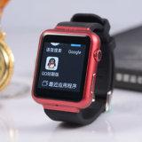 2016 1.54 reloj elegante vendedor caliente K8 de la pulgada HD TFT Bluetooth con el reloj elegante del podómetro del monitor del sueño
