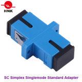 Sc-Simplexstandardplastikfaser-Optikadapter