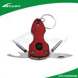 Keychain multi plegable con el cuchillo