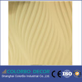 Interior Decoration를 위한 Art 다채로운 MDF 3D Wave Wall Panel