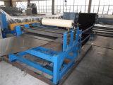 Máquina de corte hidráulica da placa de aço que corta o rolo anterior