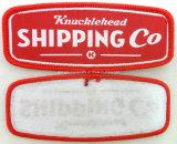 Kleidungs-Maschine gesponnenes Abzeichen (CM-2305)